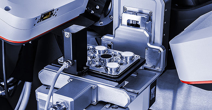 Sample changer options for high-throughput measurements
