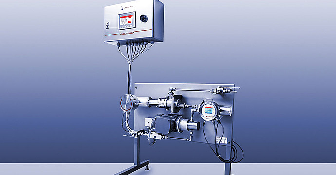 Realization example: Kinematic Viscosity Monitor for lube oil blending