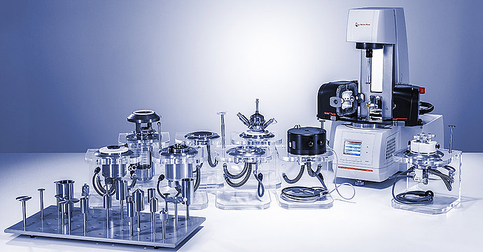 Benefit from more than 200 accessories for rheology