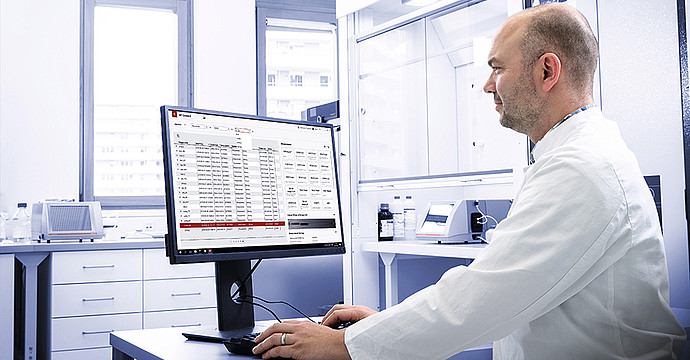 Automate viscosity data collection