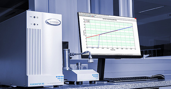 Automatic pressure regulation ensures ideal measurement conditions every time