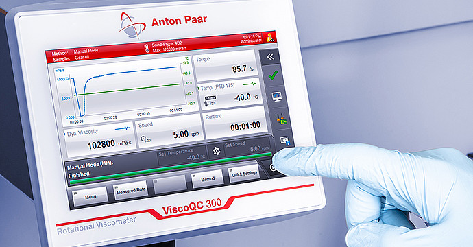 ViscoQC 300 grows with your lab needs