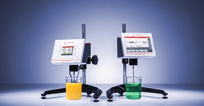 Unpack your digital viscometer and measure right away
