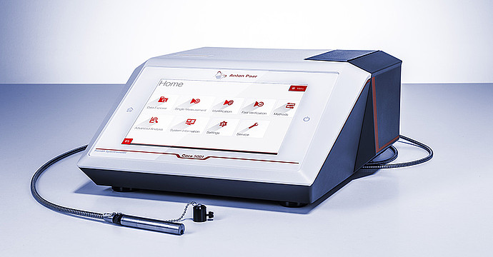 Choose the Raman spectrometer you want to combine with