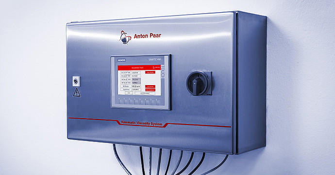 Successful process control thanks to powerful control unit
