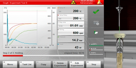Anton Paar guarantees Maximum accuracy in reaction control