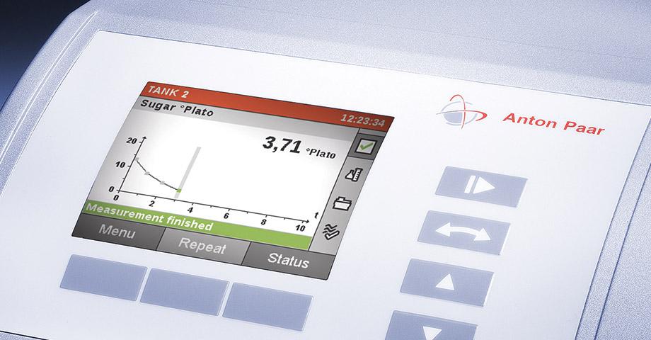 Monitoraggio visivo della fermentazione