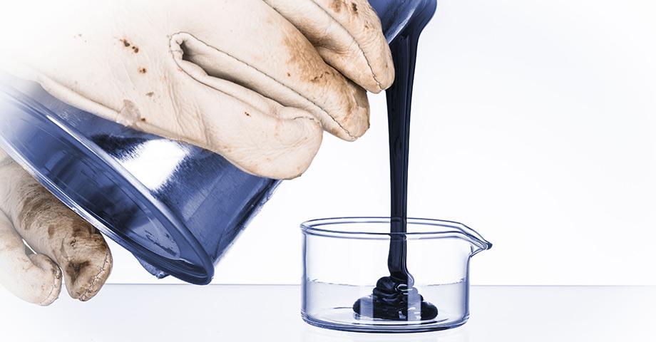 Controle de qualidade de amostras de petróleo