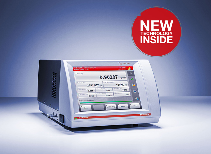 Density meter: DMA™ 4200 M :: Anton-Paar com
