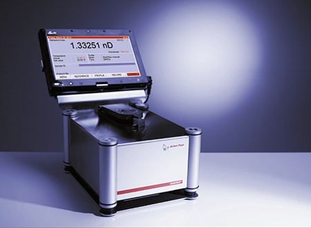 Abbemat WR/MW, refratômetro de múltiplos comprimentos de onda com PC