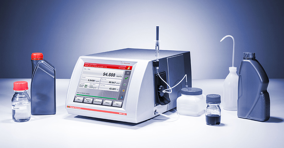 One measuring cell – all samples