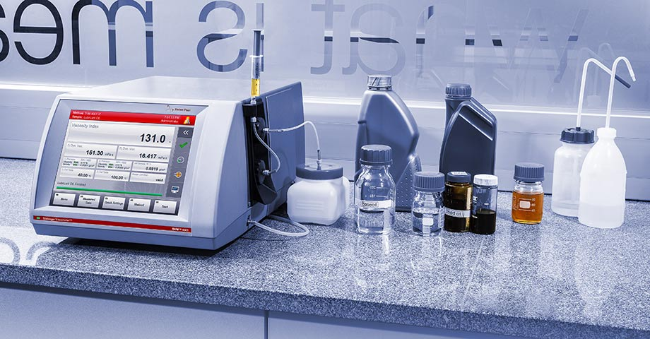 Trust the all-rounder: All samples with the same viscometer