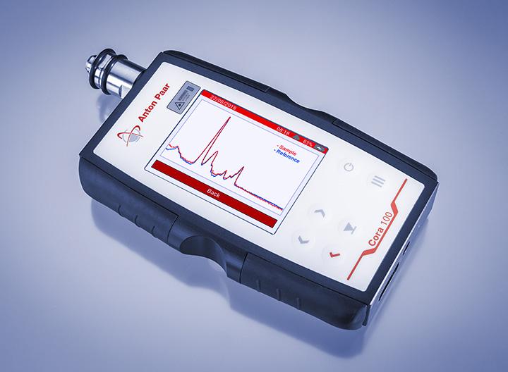 Handheld Raman Spectrometer Cora 100 Anton Paar Com
