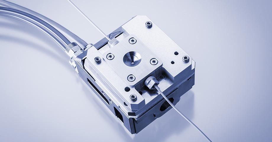 Muestreador automático ASX para todas las celdas de flujo para estudios SWAXS