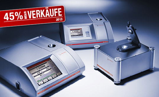 45 % more sales: the Abbemat refractometer success story continues
