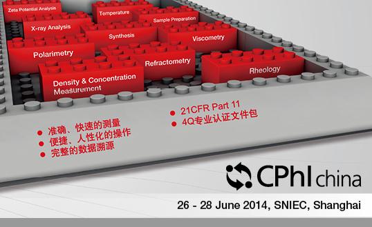 安东帕将携多款产品亮相CPHI China 2014